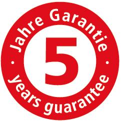 regalio-5_jahre_garantie